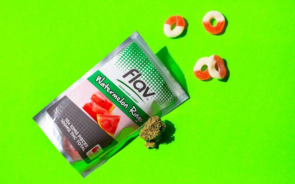 flav watermelon rings infused candies