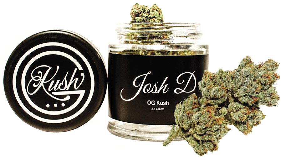 Josh D OG kush flower