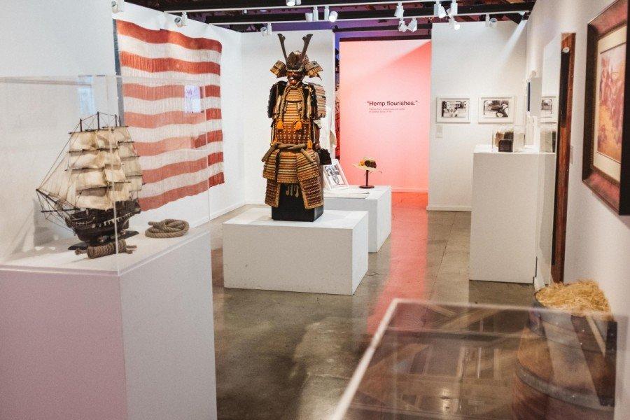 Japanese Samurai Armor from the Edo era