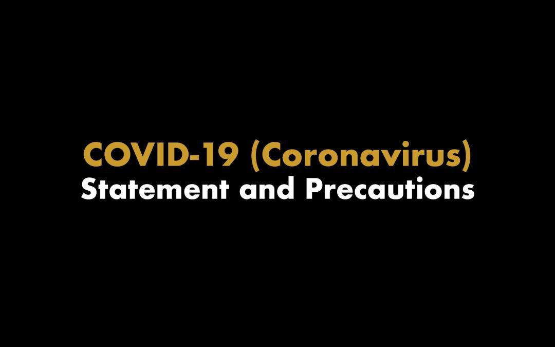 covid-19 coronavirus statement high note