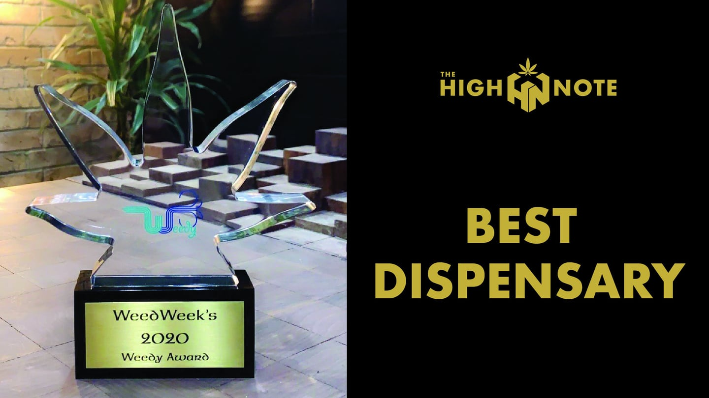 The High Note Weedy Award Best Dispensary