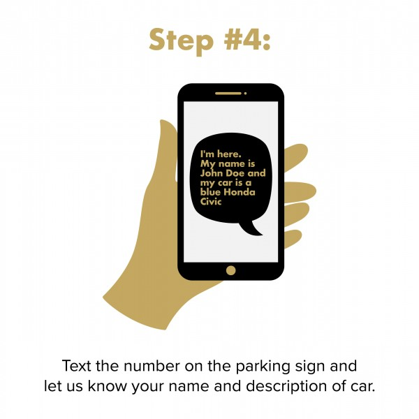 step 4: text the store