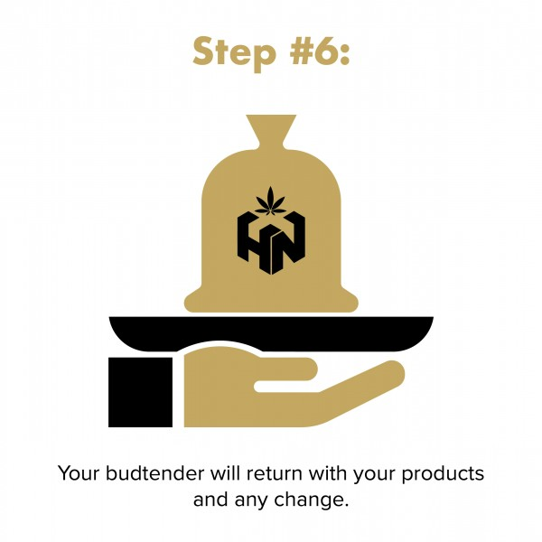 budtender will return with order