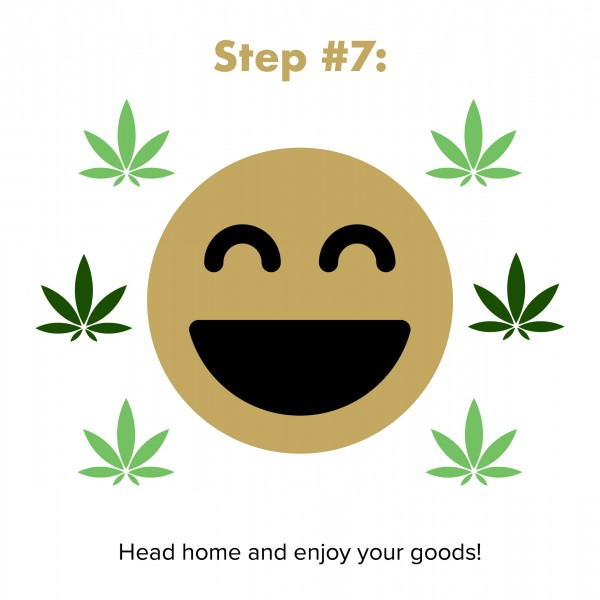 step 7: go home and enjoy