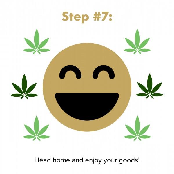 step 7: go home and enjoy