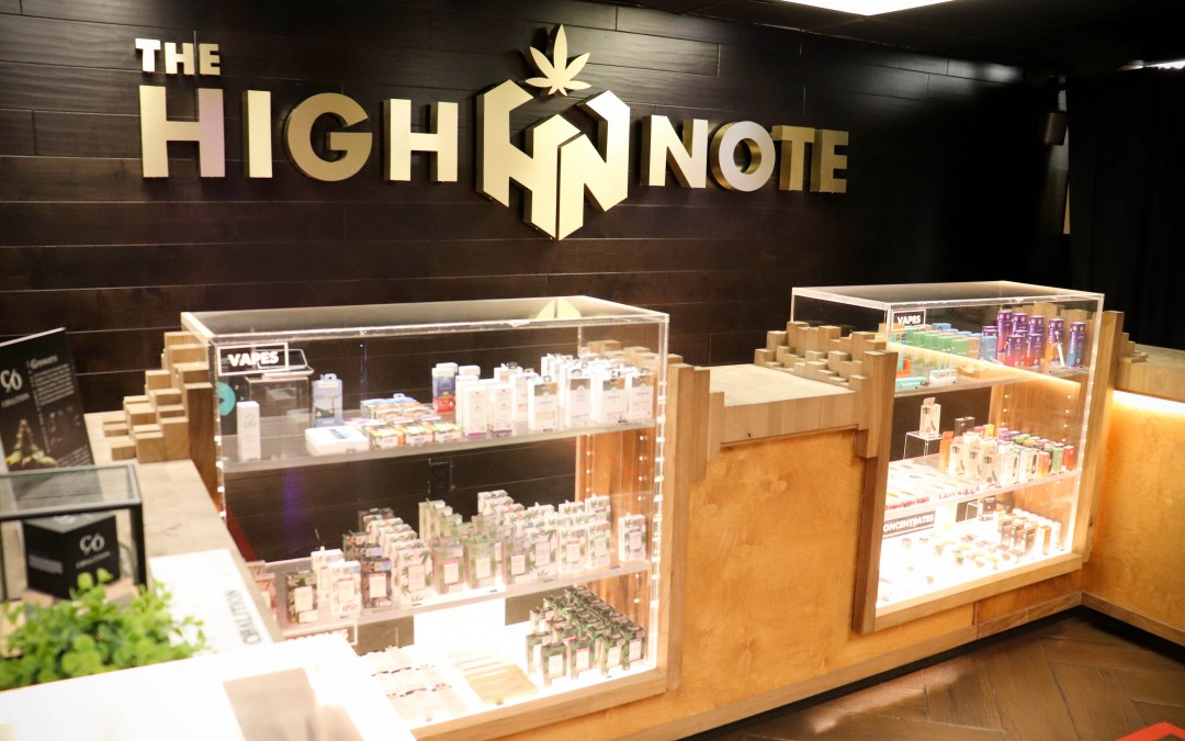 The High Note - Culver City Counter