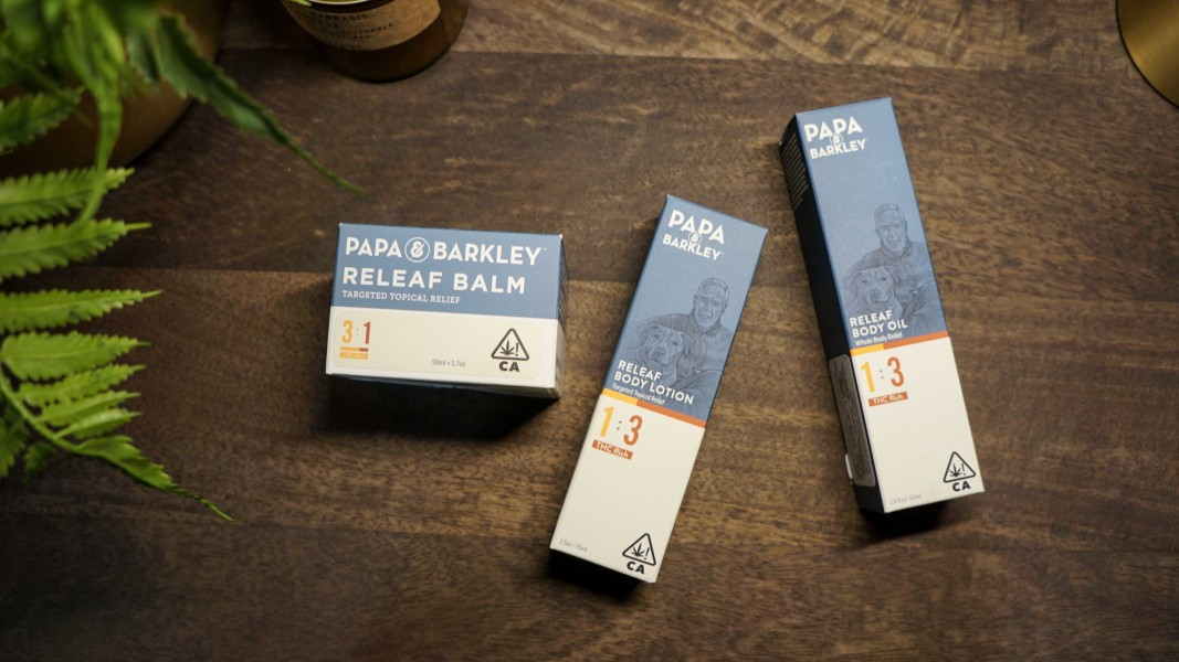 Papa Barkley best topicals cannabis