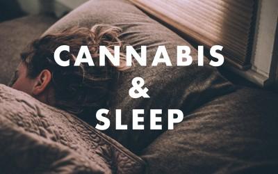 Using Cannabis for Help with Sleep
