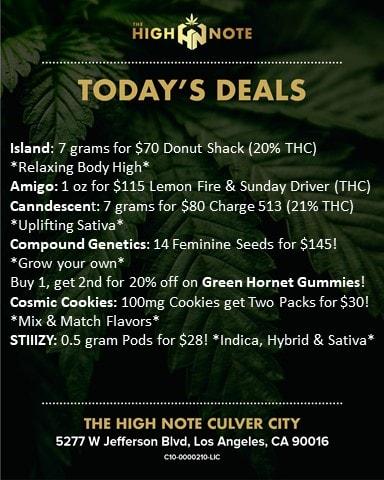 Culver City deals