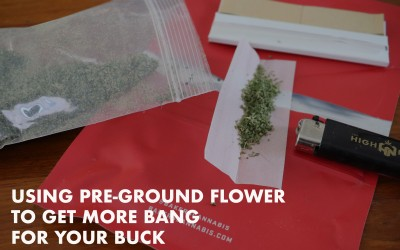 How to Use Pre-Ground Flower to Get The Most for Your Money