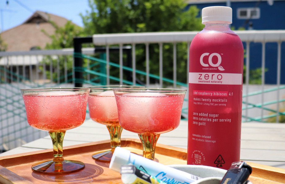 cannabis quencher drinks