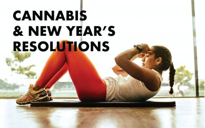 How cannabis can help you stick to your new year's resolutions