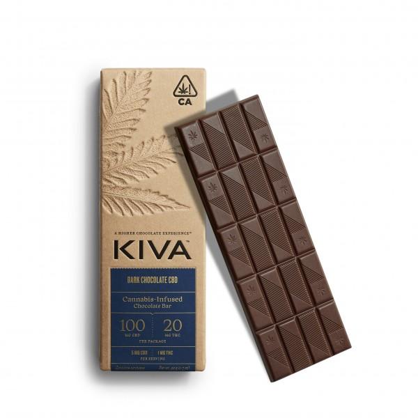 kiva 5.1 dark chocolate bar gift holiday