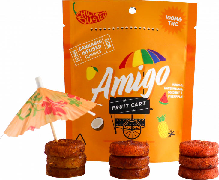 amigo fruit cart edibles valentines day
